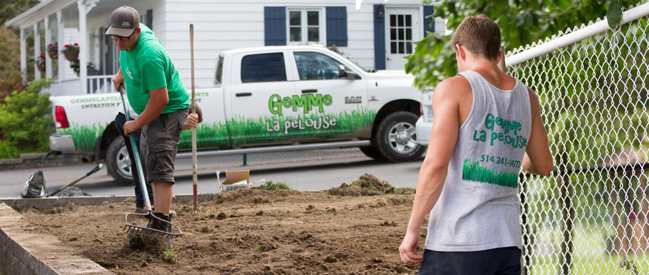 Slider 1 - Gemme la pelouse